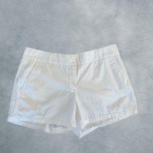 White JCrew Shorts